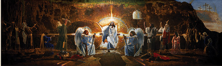 Ron-DiCianni-The-Resurrection-Mural-Framed-1